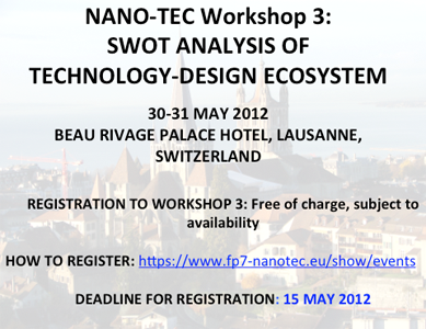 NANO-TEC Workshop 3