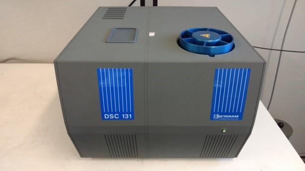 Figure 3: Differential calorimeter (up to 600°C) Brand: Setaram-France