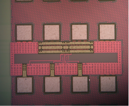 Fig. 9 : Artificial neuron circuit using TSMC 65nm CMOS technology